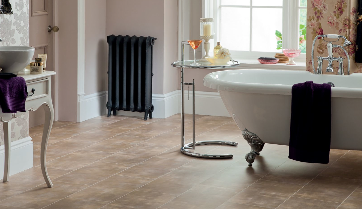 Bathroom vinyl floor tiles uk