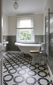 Harvey Maria Luxury Vinyl Tile Flooring - Neisha Crosland Charcoal Parquet